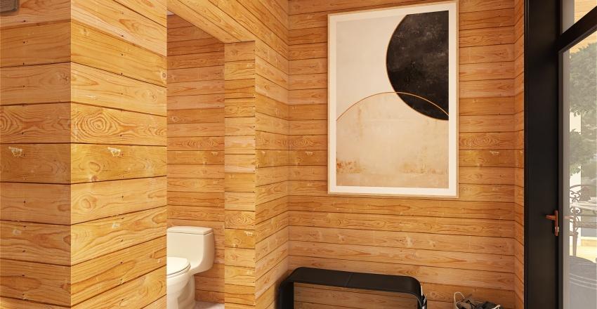 Broken Bow - reduced sq footage Interior Design Render