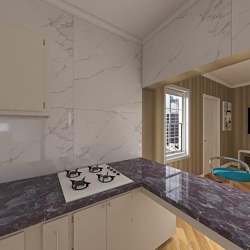 ApNunes Interior Design Render