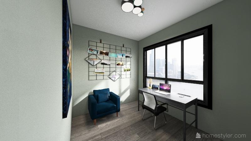 plano para renders F Interior Design Render