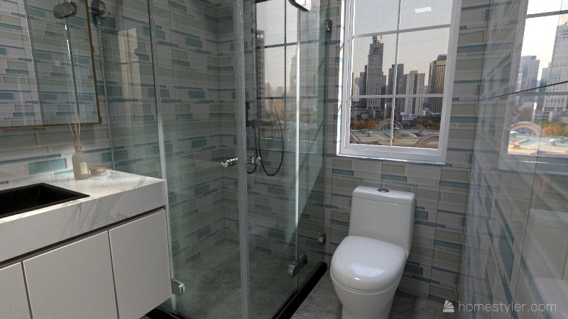 Modern Urban ApartmentModern Urban Apartment Interior Design Render