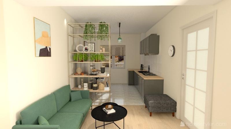 Royal Town Interior Design Render