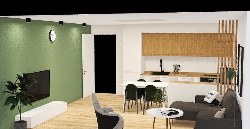 Salon 3 Interior Design Render
