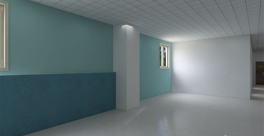 обжора Interior Design Render