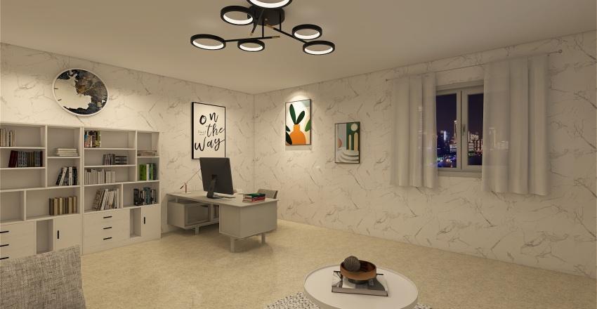 Studio privato Interior Design Render