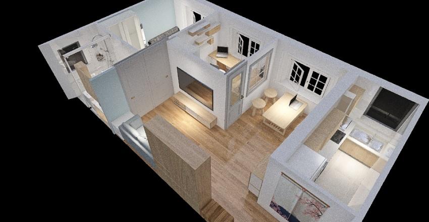 30K_Second Draft Interior Design Render