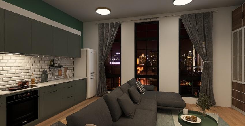 room 2 = green house Interior Design Render