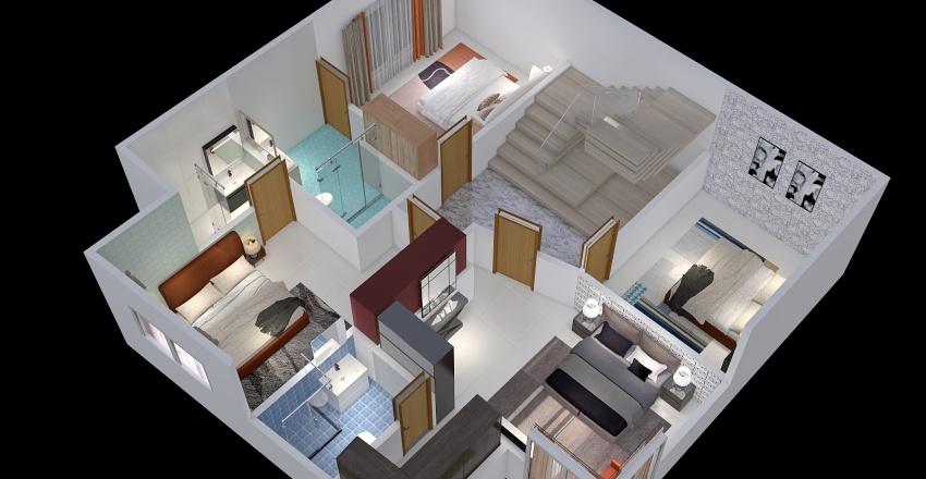 ff huhth Interior Design Render