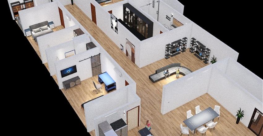 Planadistribuciondiseñoresidencial Interior Design Render