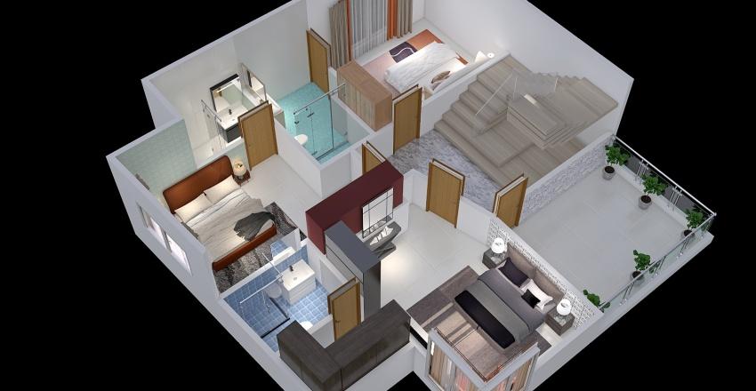 basment 1406 Interior Design Render