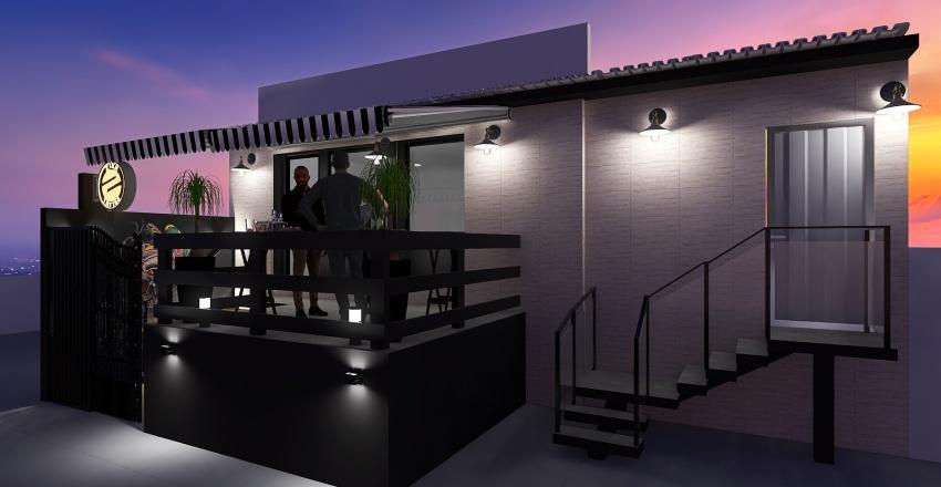Copy of Gustavo Zica Fachada Interior Design Render