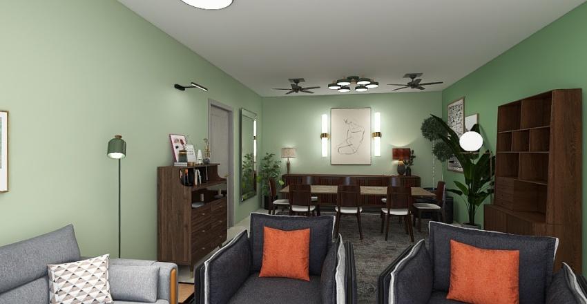 Malli/Anup House Interior Design Render