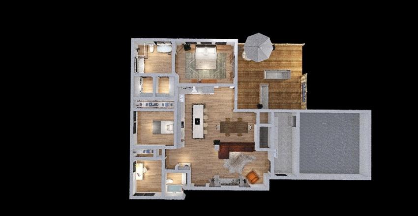Version 2 Goals For BIGGERHouse Interior Design Render