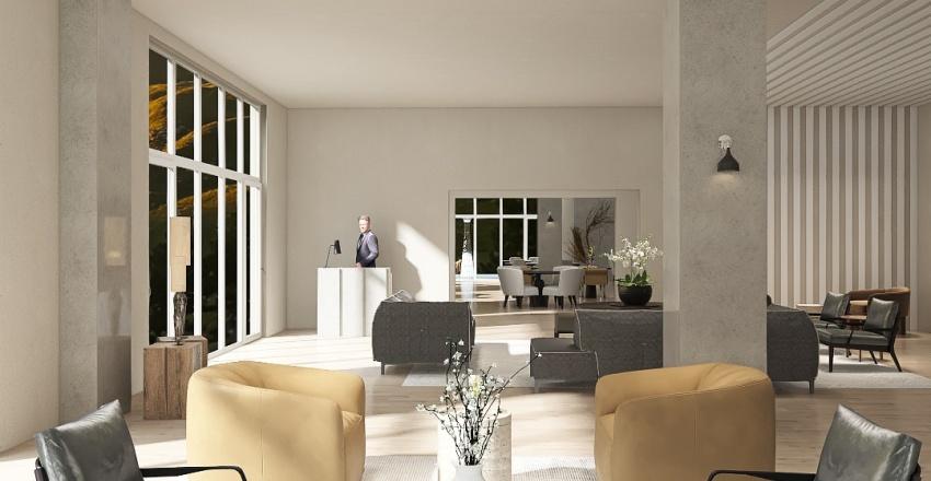 Sierra Hotel Interior Design Render
