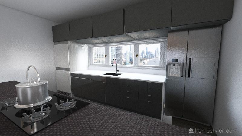 v2_sala silvia Interior Design Render
