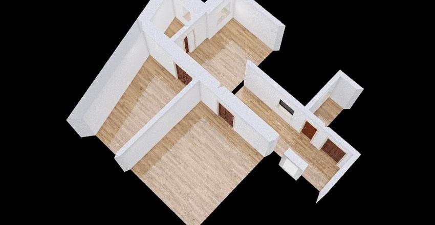 Aisha's flat Interior Design Render