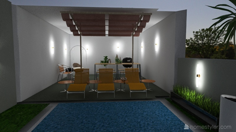 doing a new part of the mansion every day Interior Design Render