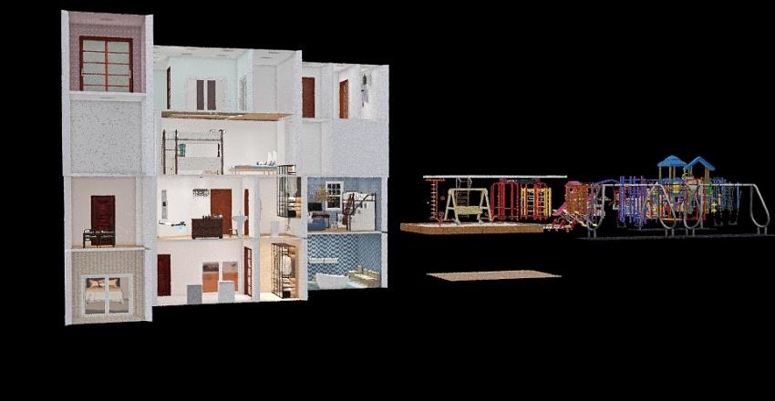 Wildest dreams Interior Design Render