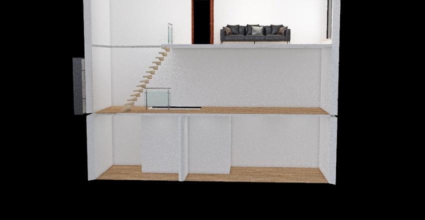 веранда Interior Design Render
