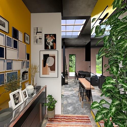 HOUSE 8: DOWTOWN DREAM Interior Design Render