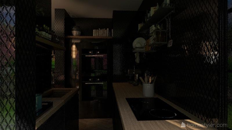 2 onder 1 kap KK_copy Interior Design Render