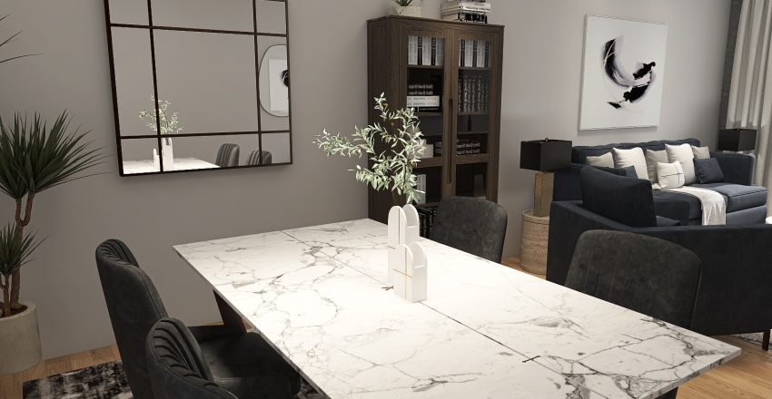 Nazir Modern City Apartment Interior Design Render