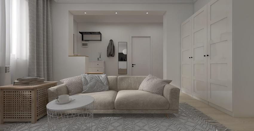 Краснодарская 88 Interior Design Render