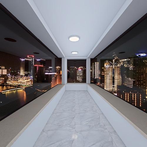 Kousuke's home Interior Design Render