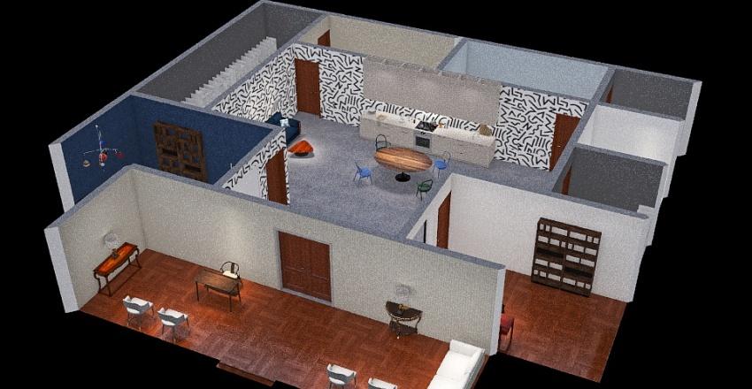 proyecto colegiado Interior Design Render