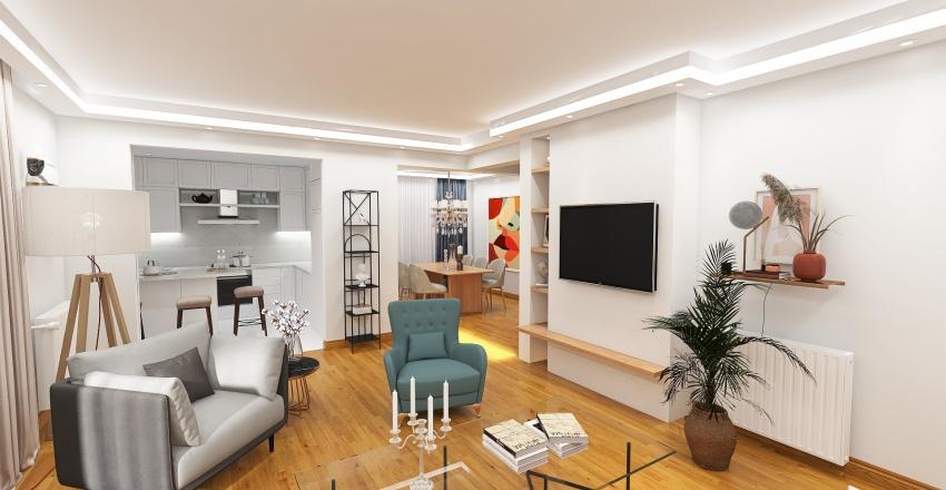 LAB_DROSIA_HOUSE RENOVATION_ATHENS Part IV Interior Design Render