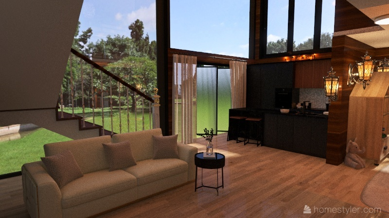 Impractical design... too bad :) Interior Design Render