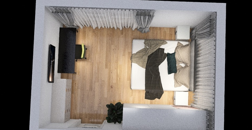 pokoik Interior Design Render