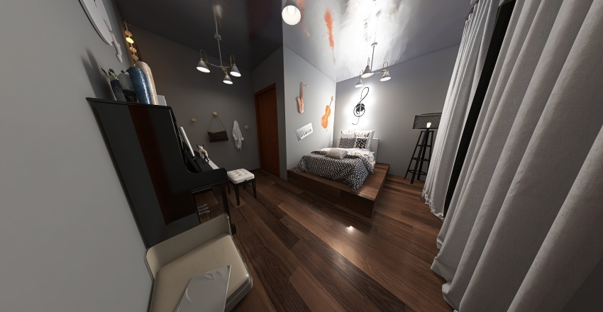 House of the Elements Interior Design Render