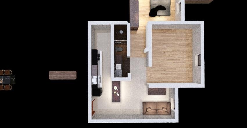 apto albert Interior Design Render