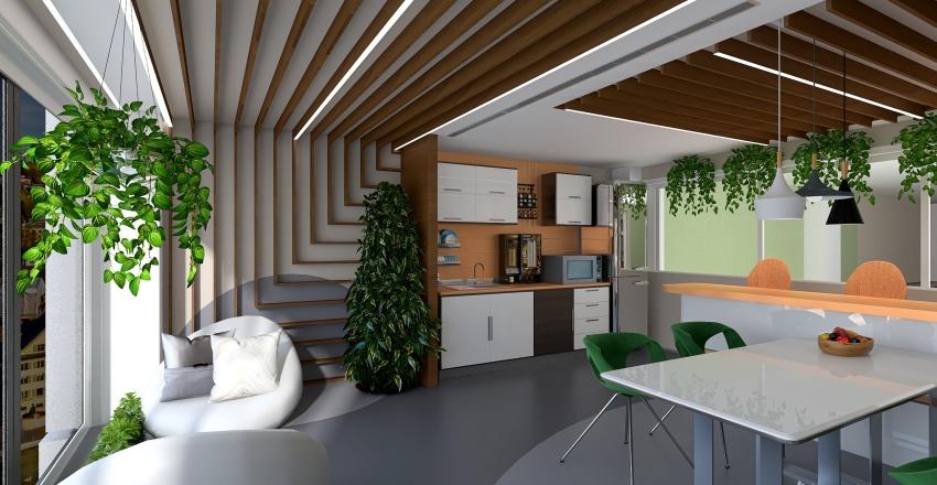 Company Headquarters IT- NEXT LEVEL Interior Design Render