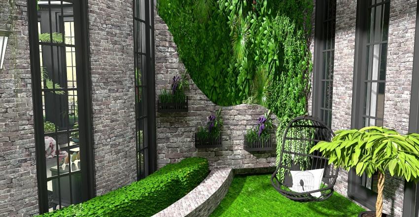 Naturalist Design Interior Design Render