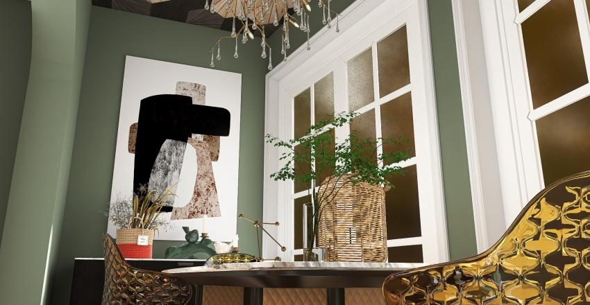 Fun and Funky Interior Design Render
