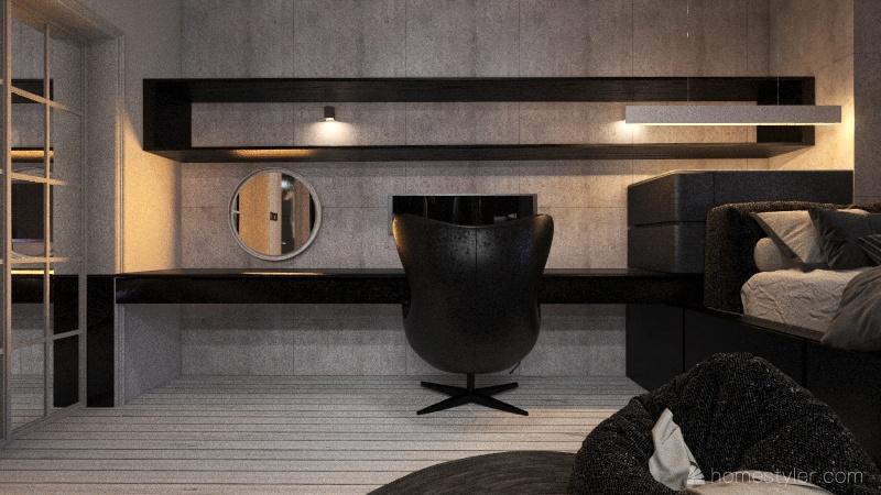 松江路 Interior Design Render