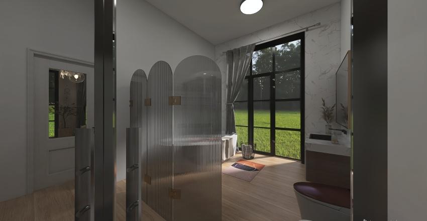 Summer home Interior Design Render