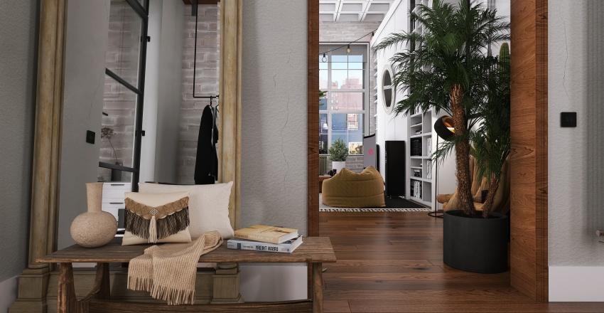 [ BOHO LOFT ] Interior Design Render
