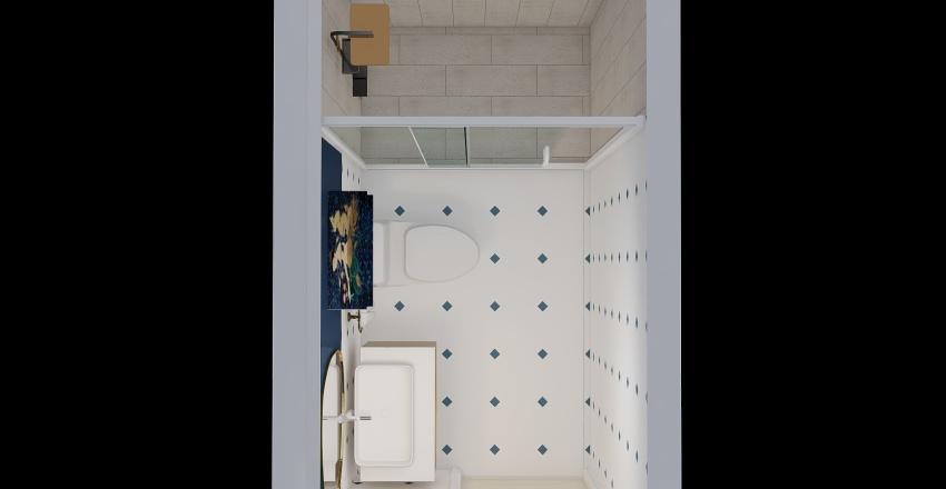 BAÑOsocial Interior Design Render