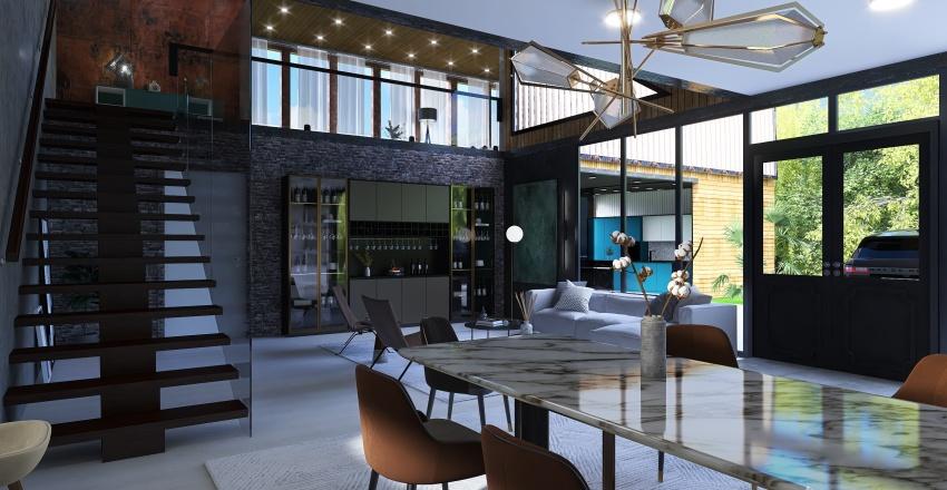 Moderna Interior Design Render