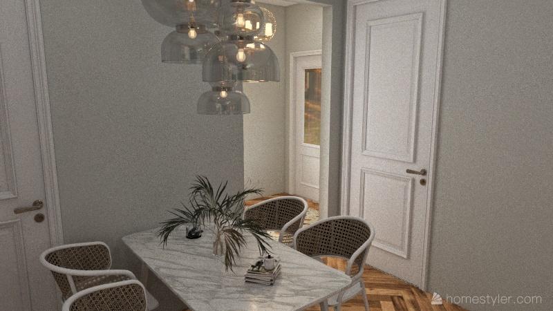 1522 House Interior Design Render