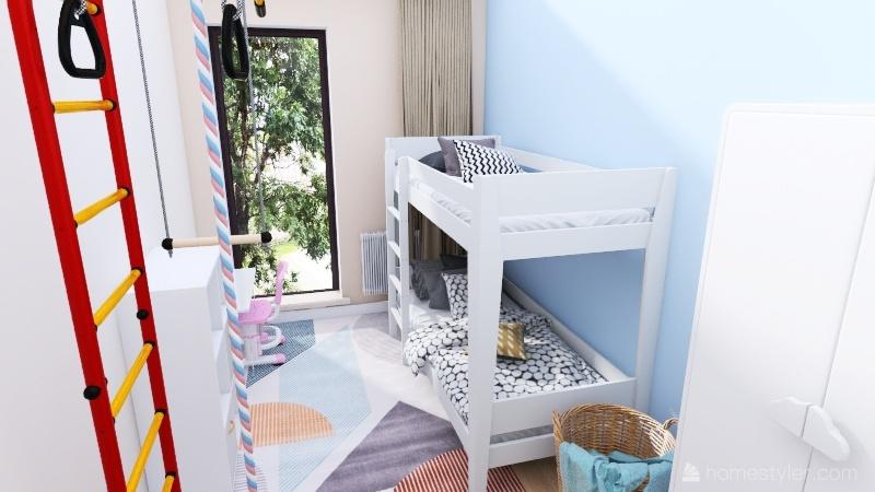 pokoj dzieci Interior Design Render