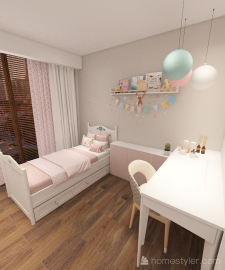 Apart São Angelo Interior Design Render