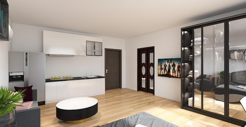 Sister's House Interior Design Render