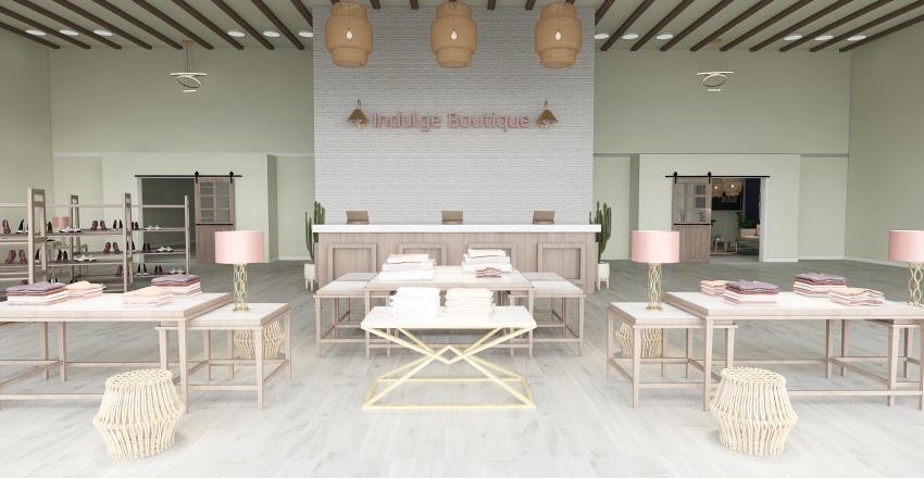   Indulge Boutique   Interior Design Render