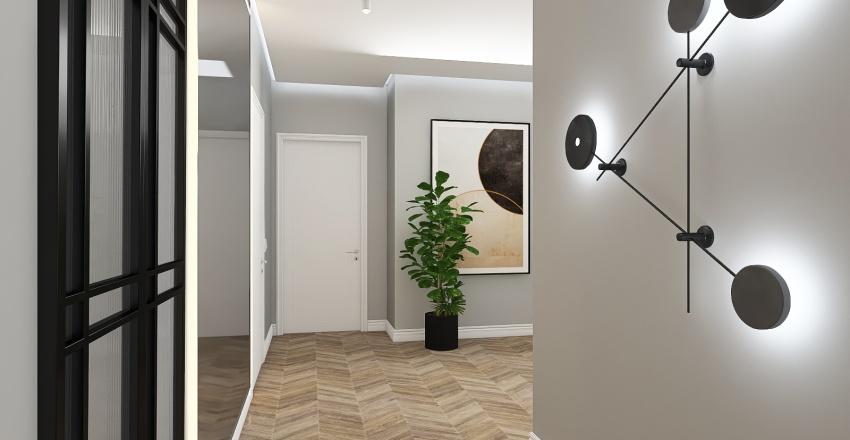 дляя порт Interior Design Render