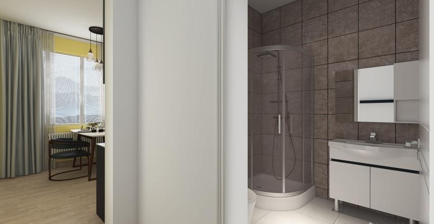 Usti 2+1 Interior Design Render