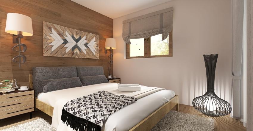 HOUSE AT AVLIDA - GREECE Interior Design Render