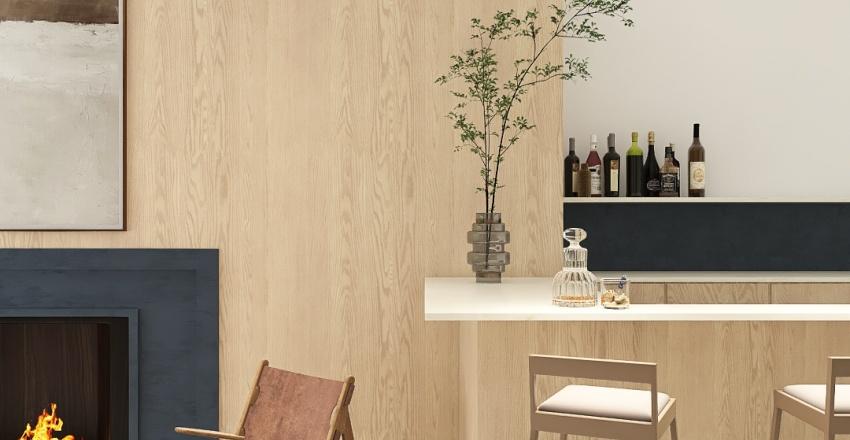 LA Modern Interior Design Render